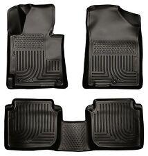 Husky Liners WeatherBeater Floor Mats - 3pc- 98891- Fits Hyundai Elantra 11-13