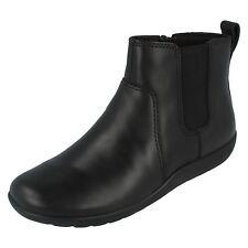Clarks Ladies Leather Black Ankle BOOTS Style Medora Grace D Fit UK 3 X 8 (r99) Uk8 Eu42