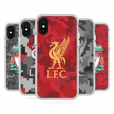 LIVERPOOL FC DIGITAL CAMOUFLAGE WHITE SHOCKPROOF BUMPER CASE FOR iPHONE PHONES