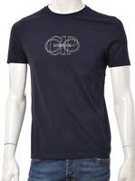 T-shirt Uomo C.P. Company CP 98A005100W PE 2018 Cotone Logata Maglia NUOVA