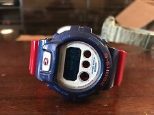 NEW Casio G-Shock Red Royal Blue White DW-6900AC Mens Watch One Size