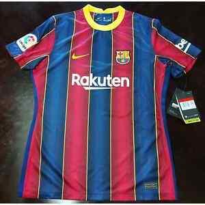 Nike 2020-21 FC Barcelona Women's Soccer Jersey Dri-Fit CD4401-456 Women's sz L