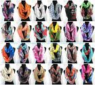 2.75/p -wholesale lot 20  floral paisley abstract print infinity scarf