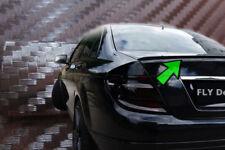 Mercedes Benz C Klasse carbon Autospoiler W203 limousine Heck hecklippe Tuning