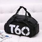 Men Women Sport Gym Shoulder Bag Duffle Travel Luggage Backpack Travel Tote Gift