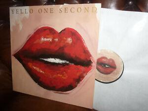 "Yello, One Second, German Mercury 830 956-1 LP, 12"" 1987"