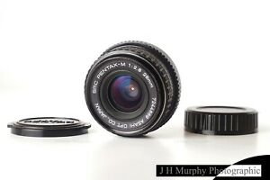 PENTAX M SMC 28mm f2.8 Lens for K1000 LX or adapt to Digital A9 etc EXCELLENT