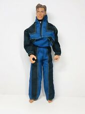 "1998 Mattel Max Steel 12"" Action Figure with Jumpsuite 1998"