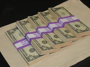 Prop Novelty Money Filler Packs 5 x $2K Solid Blocks.Legal Single Sided