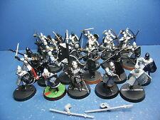 27 Gondor Krieger + Standarte + Faramir für Herr der Ringe