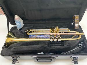 Mint Open Box Bach TR500 Aristocrat Trumpet Bb, with case, accessories, warranty