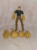 Sandman Spiderman 3 Marvel Legends Movie Hasbro 2008 Action Figure 6""