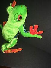 "12"" Rainforest Tree Frog Plush Stuffed Animal ABC Girl Scouts Build A Bear"