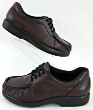 SAS 'Take Time' Womens Lace Up Comfort Shoes Antique Wine Leather 6.5M