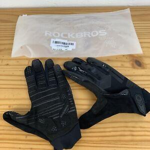 ROCKBROS Black Gloves LARGE