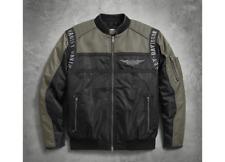Harley Davidson Herren Mainstreet Nylon Bomber Jacke