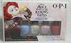 OPI Nail Polish ALICE LOOKING GLASS 4 I's Majesty Gown Head .125 oz/3.75mL New