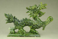 Exquisite chinese jade Handmade hand-carved dragon statues