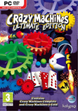 IBM/PC-CRAZY MACHINES ULTIMATE  GAME NEW