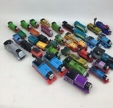 Huge Lot Of Thomas The Train Motorized Diecast Magnetic Engines & Train Cars