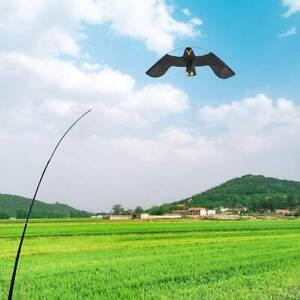 Telescopic 4 m Bird Repellent Flying Hawk Kite Scarecrow Decoration Scarer Pest