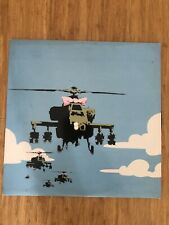 Banksy Original Artwork Dirty Funker Flat Beat Vinyl Record And Cover