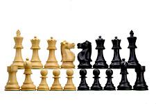 ROOGU Fisher-Spassky WC 72' Staunton 3.75'' Chess Piece Figure Set Wood Handmade