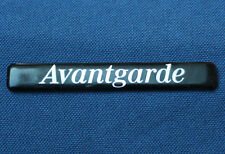 Mercedes Benz - AVANTGARDE - Schriftzug - Label - Kunststoffemblem