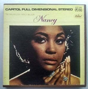 Nancy Wilson - The Magnificent Nancy Wilson - 4 track 3 3/4 STEREO