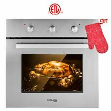"""Gasland chef ES606MS 24"""" Built-in Single Wall Oven with 6 Cooking Function"""