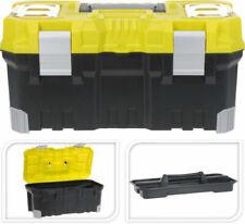 Werkzeugkiste Kunststoff Werkzeugkoffer leer Werkzeugbox Werkzeugkasten XL