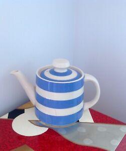 Vintage Cornishware Blue and White Teapot T.G.Green
