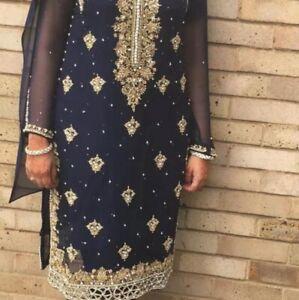 Pakistani Asian Wedding Party Outfit Suit