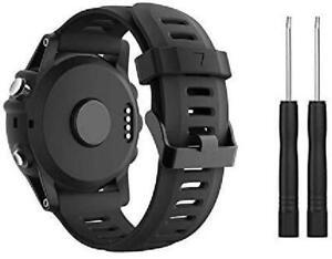 Bracelet de Montre SUPORE Garmin Fenix 3 Silicone Doux Remplacement Respirant
