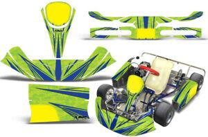 Go-Kart Graphics kit Decal for KG Kids Kart Contender Blue Green