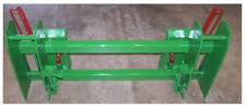 Jd 600-700 loader Adapter To Skid Steer Attachments With Latches