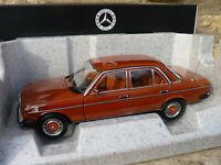 NOREV B66040653 - Mercedes Benz 200 berline de 1980 W123 au 1/18 Rouge Anglais