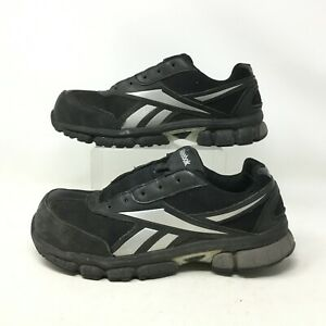 Reebok Ketia EH Athletic Composite Safety Shoes Steel Toe Black Silver Mens 9M