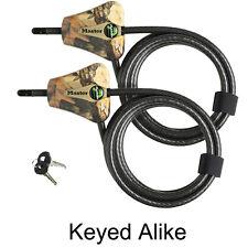 Master Lock - (2) Python Trail Camera Camouflage Cable Locks 8418KA-2 CAMO