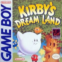 Kirby's Dream Land - Nintendo Game Boy GB
