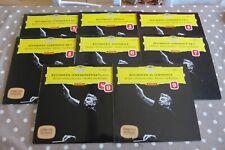 Beethoven Complete Symphony 1-9 Karajan BPO DGG Tulips Red Stereo ED1 German 8LP