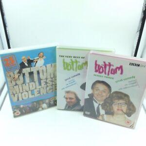 Bottom, Rik Mayall, Ade Edmondson 3 DVD Bundle, Best of,Series 3 , Violent Bits
