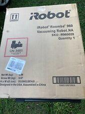 NEW SEALED iRobot Roomba 960 Robot Bagless Vacuum Black/Gray R960020