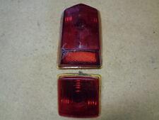 1949 1950 Frazer Manhattan Left Hand Glass Tail Light Lens FRB FRBD IGC 15431 33