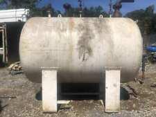 1500 Gallon Steel Tank Liquid Storage Tank Biofuel Tank