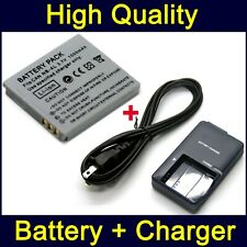 NB-4L Battery & Charger for CB-2LVE Canon IXUS 130 115 HS 220 HS 230 HS 255 HS