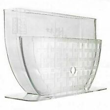 M.V. Trading NS1018 11 inch Rice Paper/Egg Roll Water Bowl - Clear