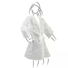 Conf. 60 Kimono monouso in TNT bianco