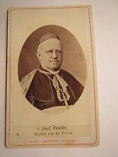 Bischof von St. Pölten - Josef Fessler - Portrait / CDV