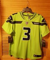 $150 Wmn🏈 NIKE NFL SEATTLE SEAHAWKS Russell Wilson #3 LIMITED COLOR RUSH Jersey